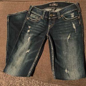 "Silver Jeans - ""Mackenzie"" - Like New"